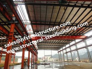 China Concreet Staal Gemengd de Bouw Structureel Staal - de ontworpen Gebouwen richtten snel de Geprefabriceerde Bouw op leverancier