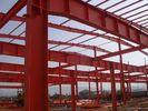China Structureel Staalgebouwen met GolfStaalplaatcomité Sluiting fabriek